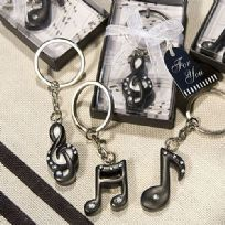 Musical Note Key Ring